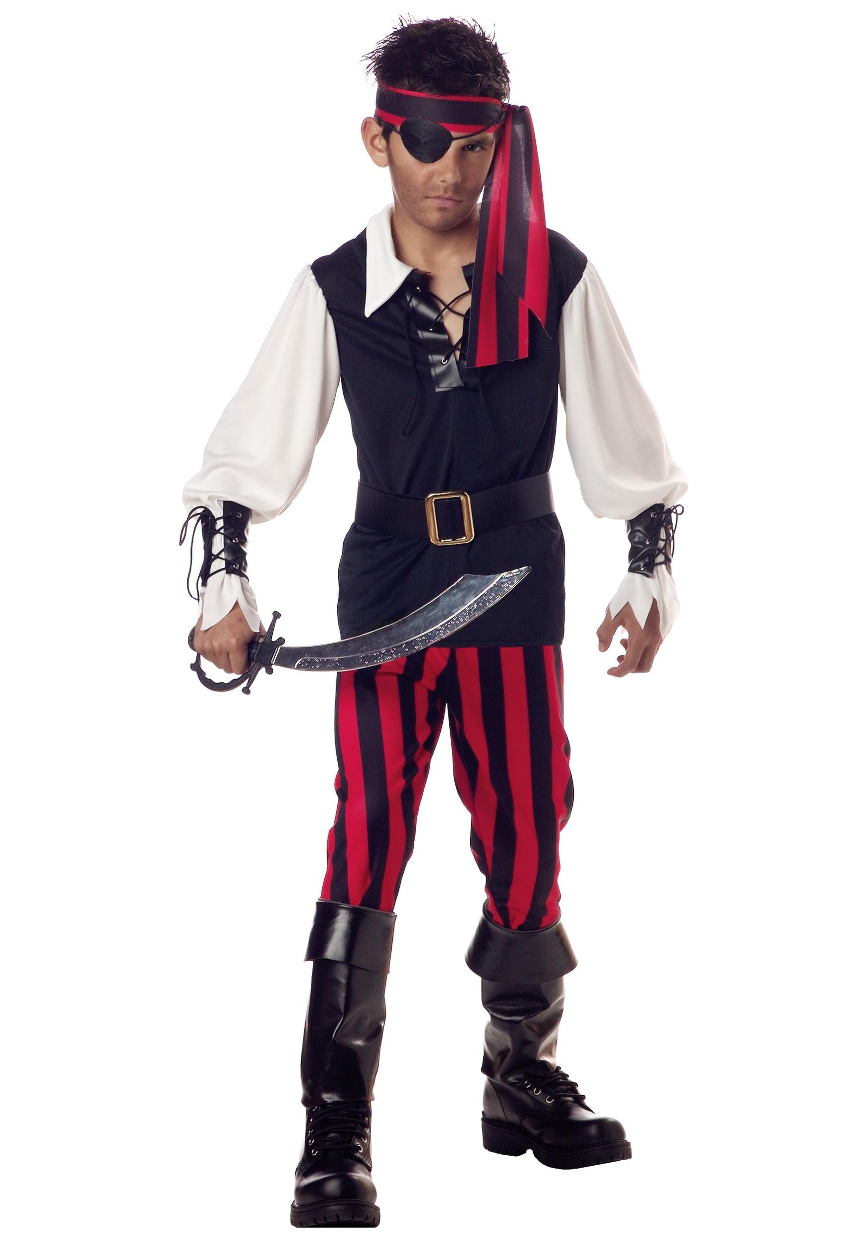 Kid's Cutthroat Pirate Costume