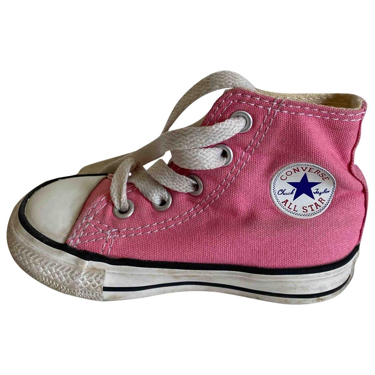 Converse \N Pink Cloth Trainers for Kids 21 EU