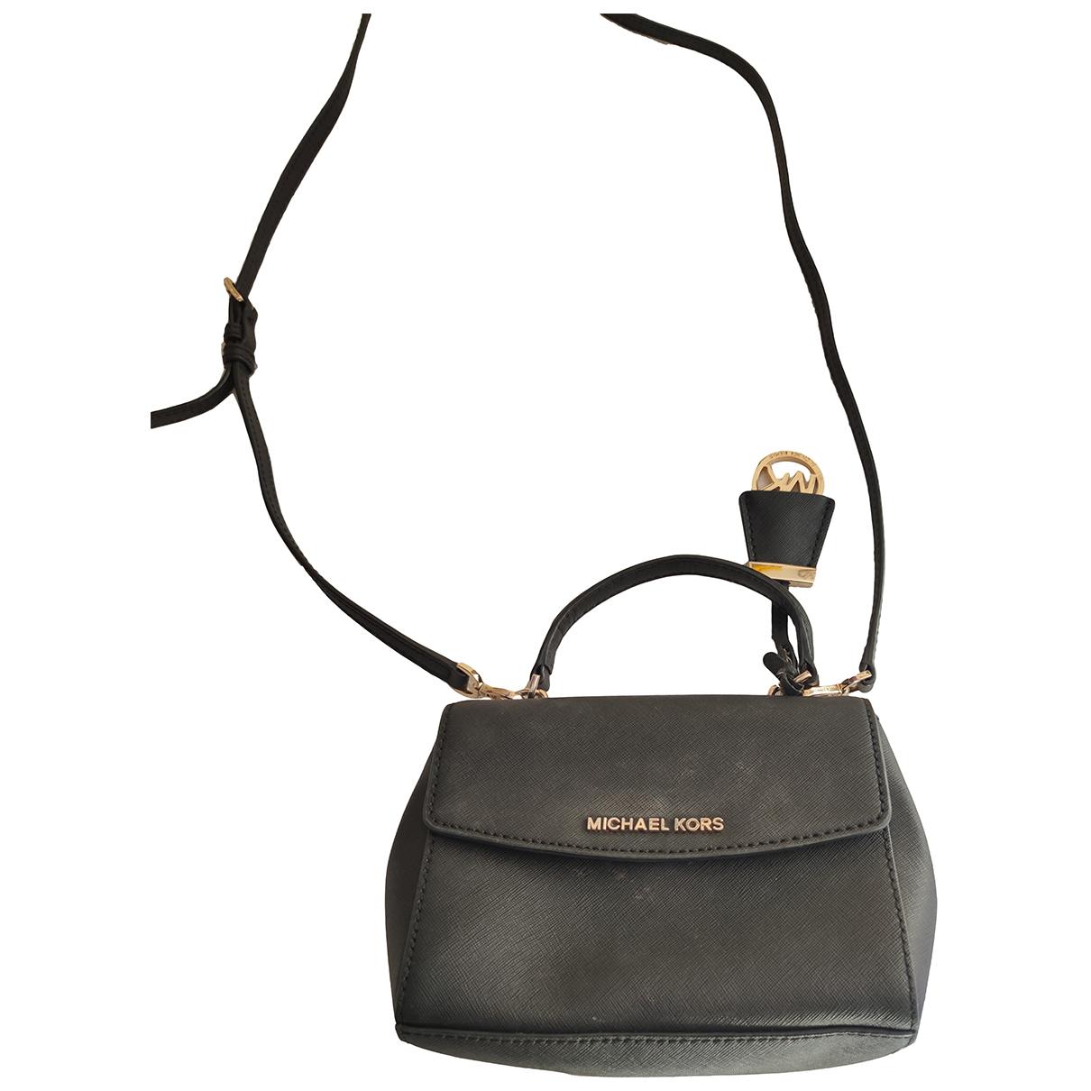 Michael Kors Ava Black Leather handbag for Women N