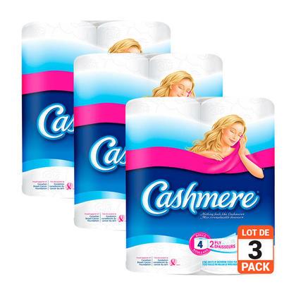 Papier hygiénique Cashmere® Rouleau double 253 feuilles par rouleau 24 rouleaux - 24 rouleaux/paquet