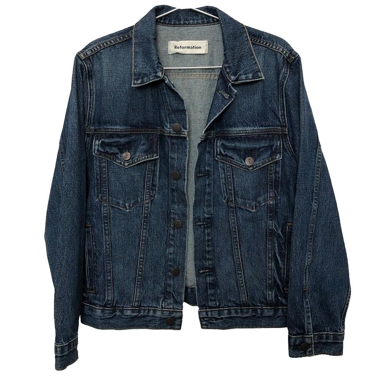Reformation \N Blue Denim - Jeans jacket  for Men XS International