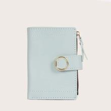 Brieftasche mit Falten