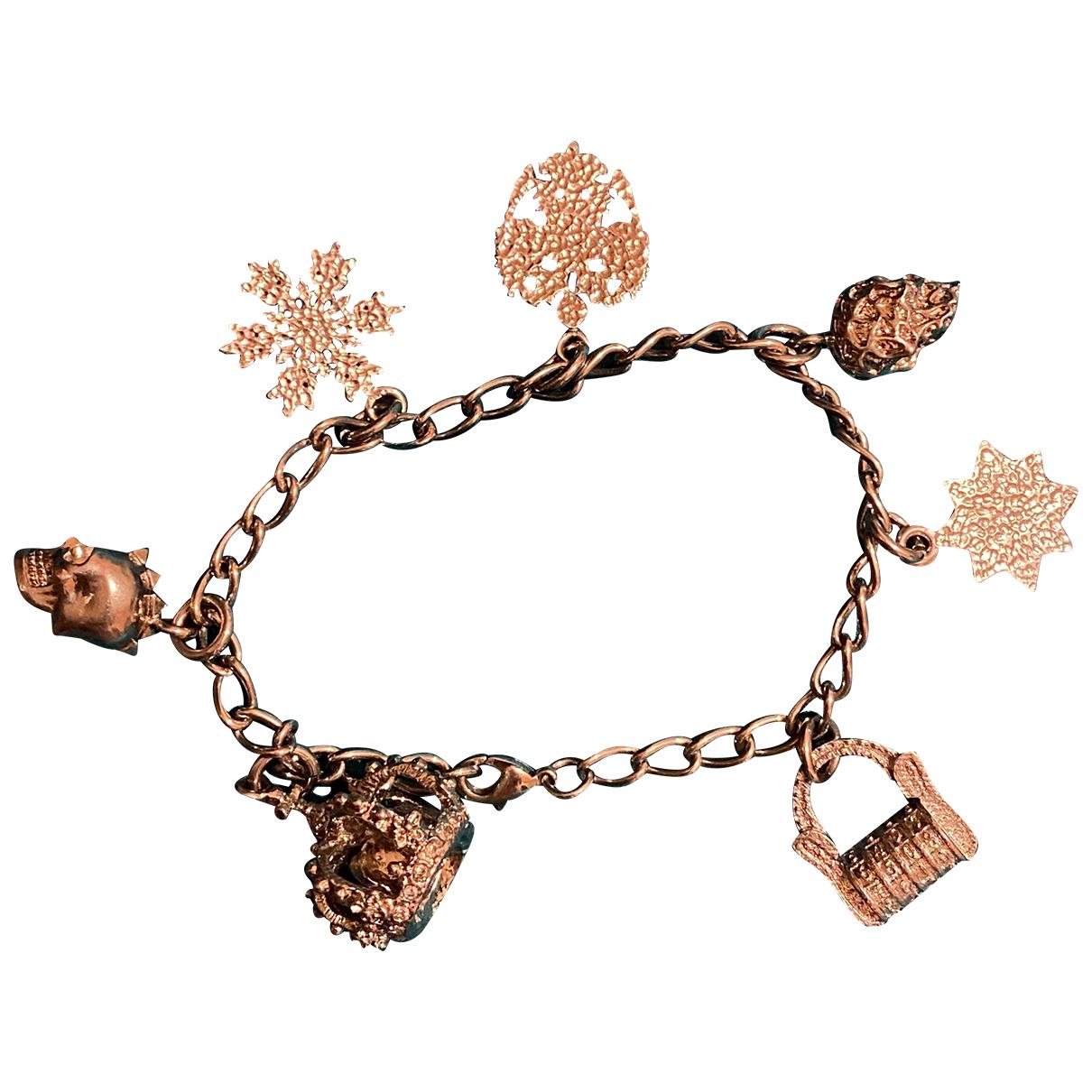 Alexander Mcqueen - Bracelet   pour femme en metal - argente