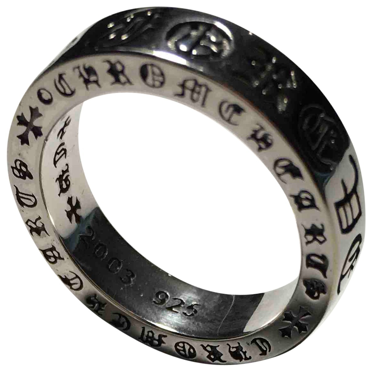 Chrome Hearts \N Ring in  Silber Silber