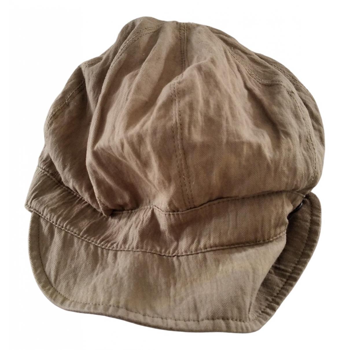 Giorgio Armani - Chapeau   pour femme en coton - kaki