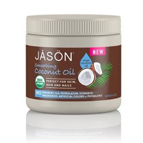 Smoothing Coconut Oil 15 Oz by Jason Natural Products
