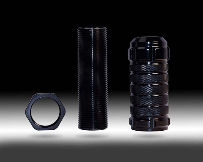 NRG SK-500BK-1 Black M10 x 1.25 Stealth Adjustable Shift Knob Universal