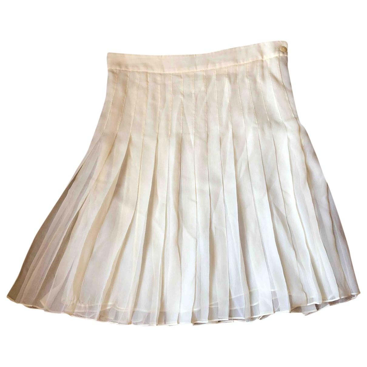 Falda midi de Seda Chloe