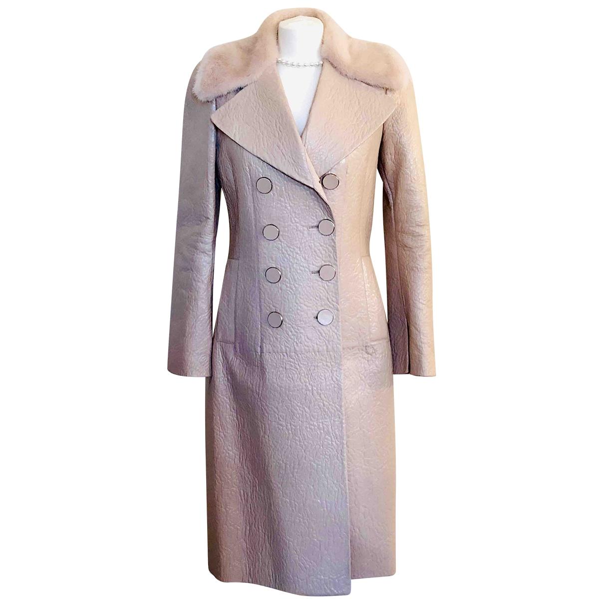Alexander Mcqueen \N Pink coat for Women 44 IT