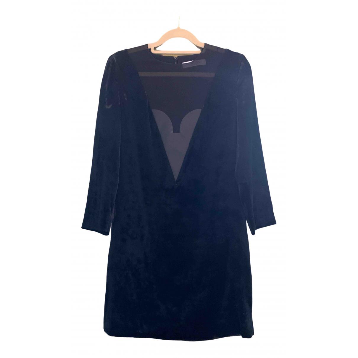 Viktor & Rolf \N Black Velvet dress for Women 40 IT