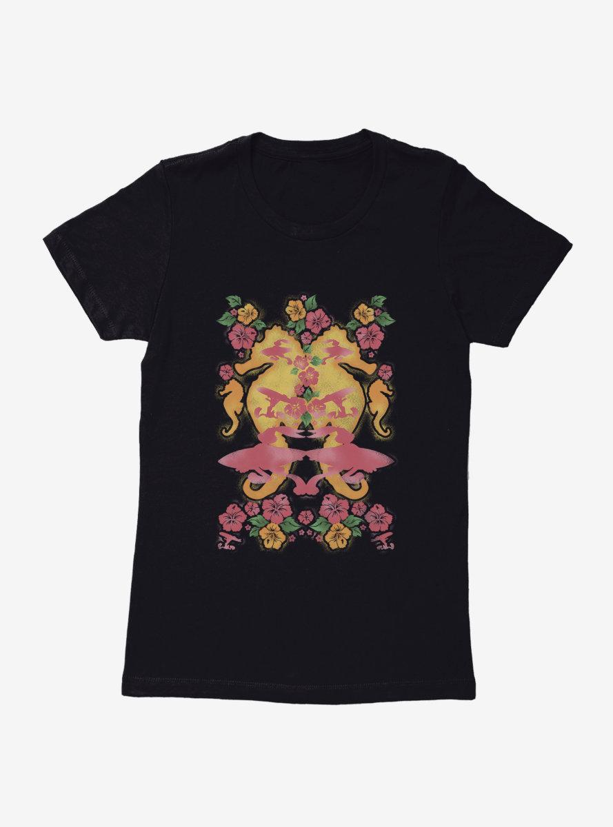 Looney Tunes Seahorse Art Womens T-Shirt