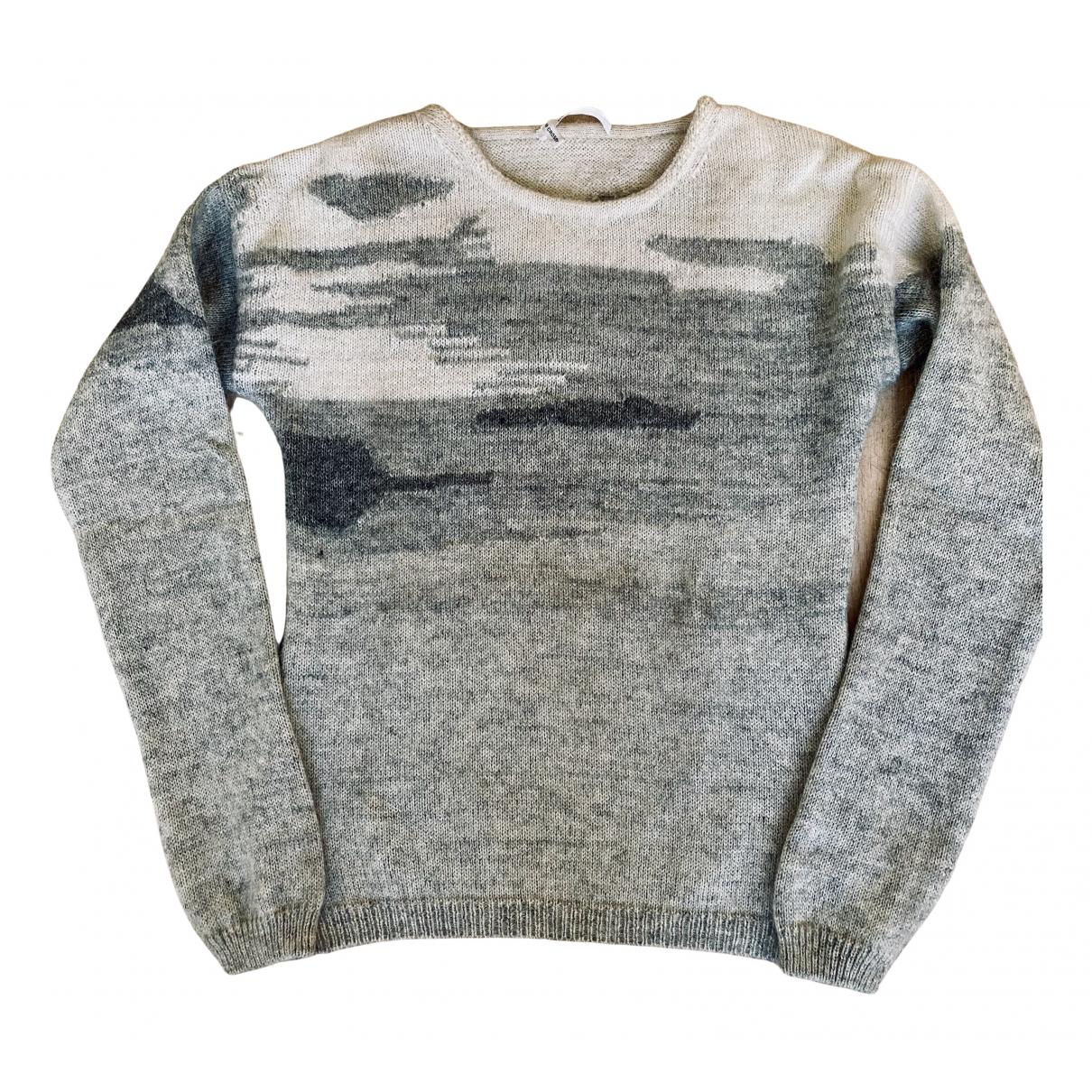 10 Crosby By Derek Lam \N Pullover in  Grau Wolle