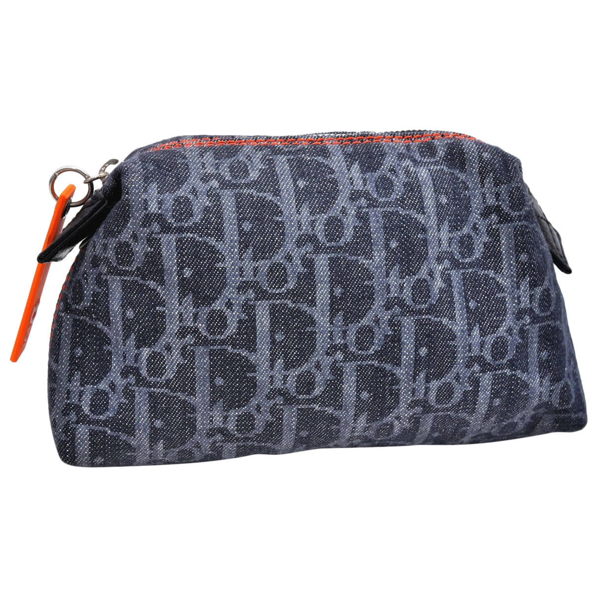 Dior N Blue Denim - Jeans Clutch bag for Women N