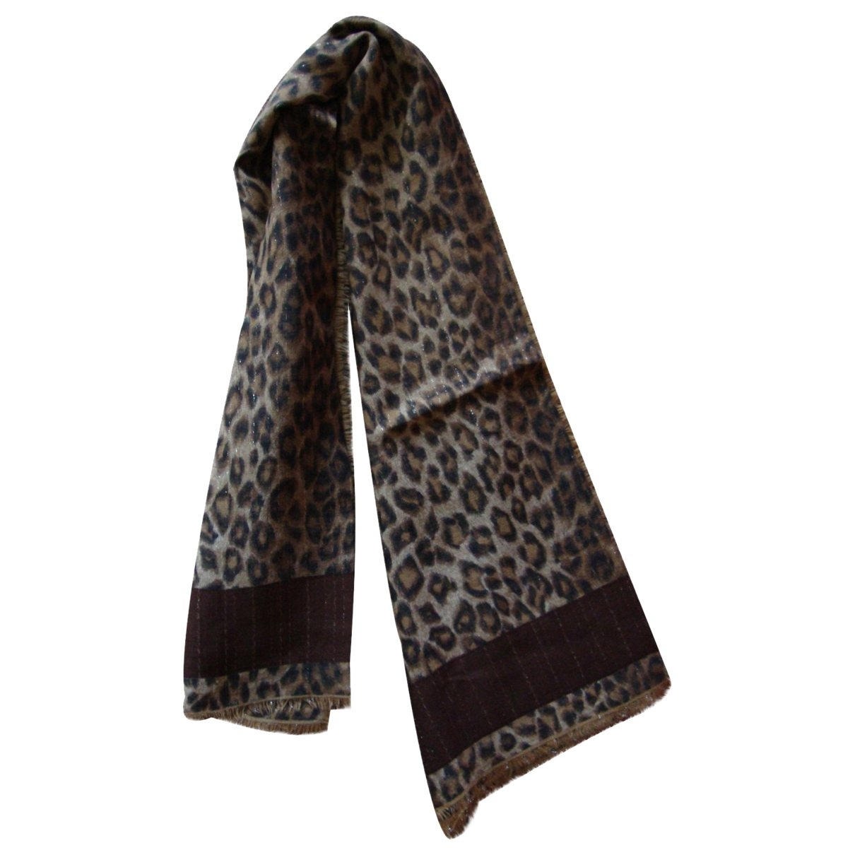 Non Signé / Unsigned \N Cotton scarf for Women \N