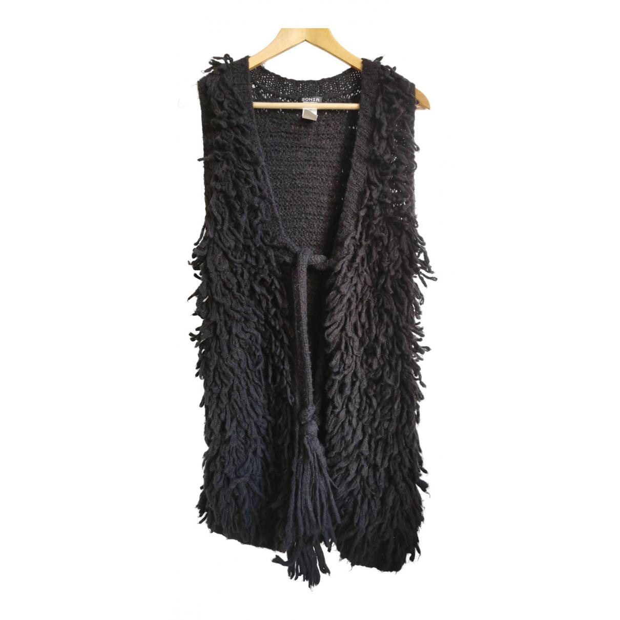 Sonia By Sonia Rykiel - Pull   pour femme en laine - noir