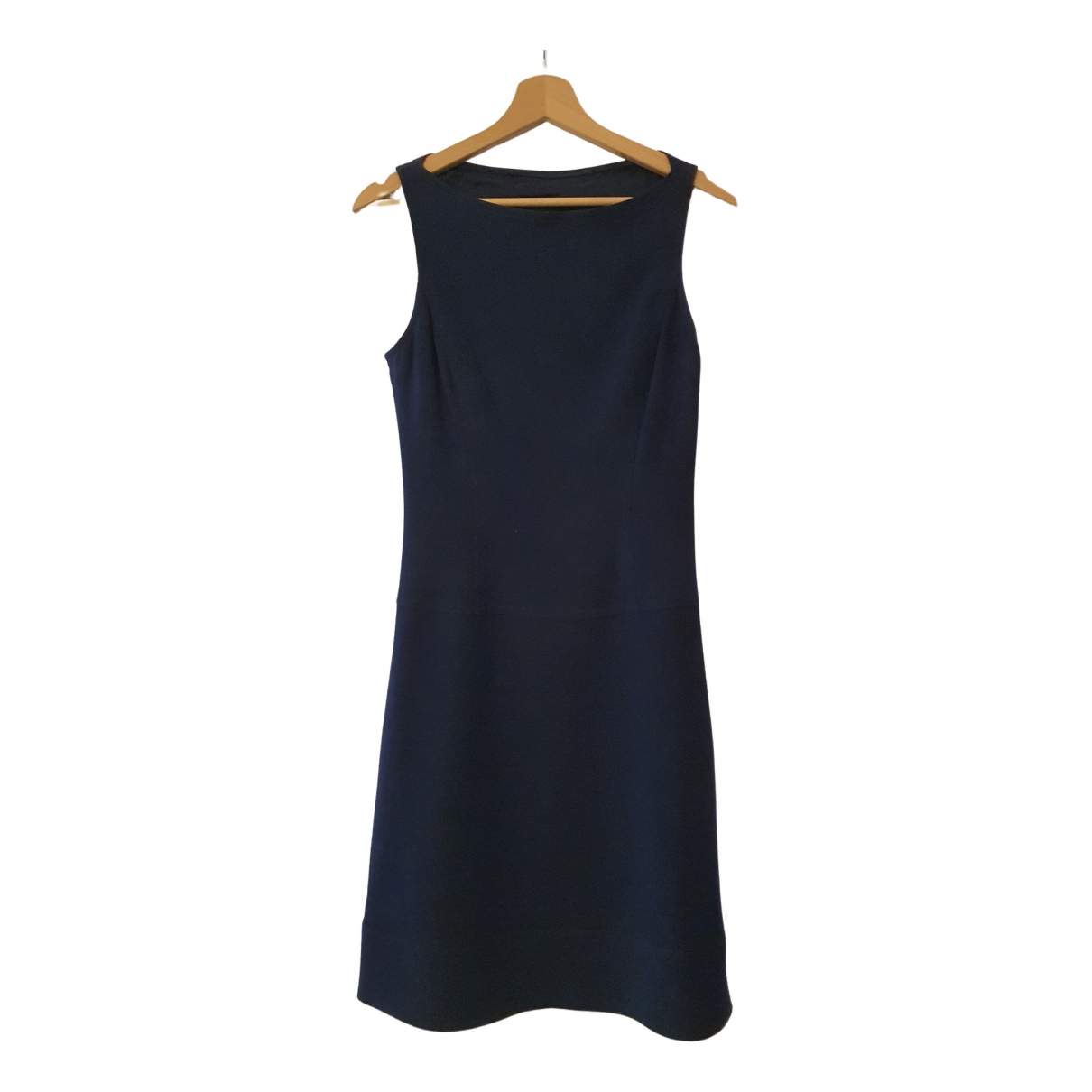 Ralph Lauren \N Blue Wool dress for Women 38 FR