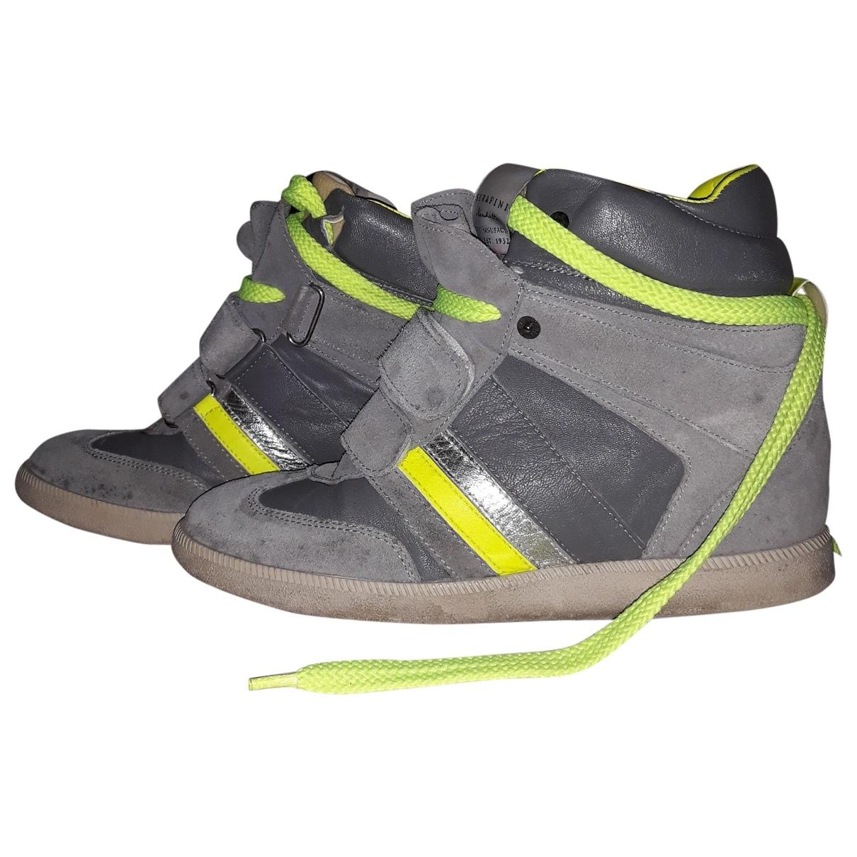 Philosophy Di Lorenzo Serafini \N Sneakers in  Grau Veloursleder