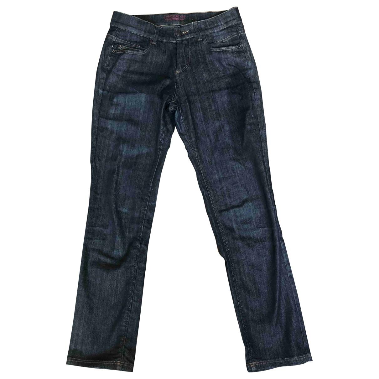 Comptoir Des Cotonniers \N Blue Cotton - elasthane Jeans for Women 36 FR