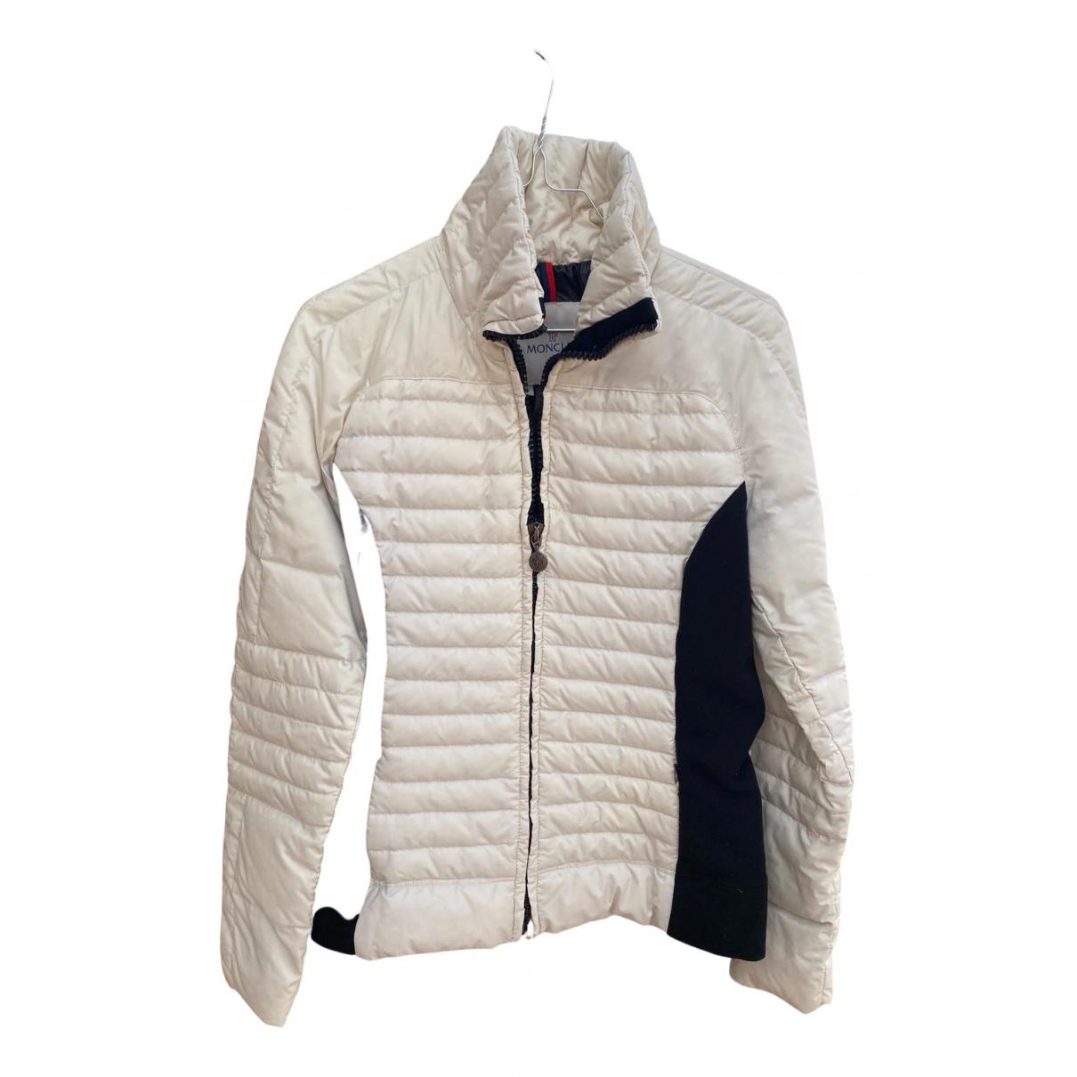 Moncler - Manteau Classic pour femme - blanc