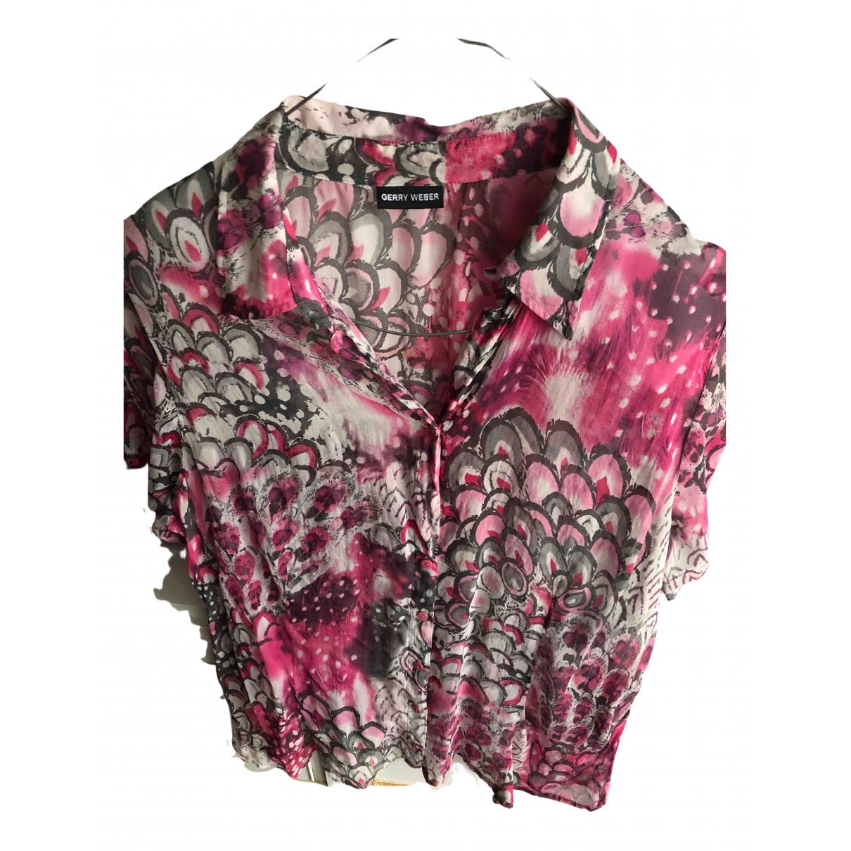 Gerry Weber N Pink Silk skirt for Women 44 FR