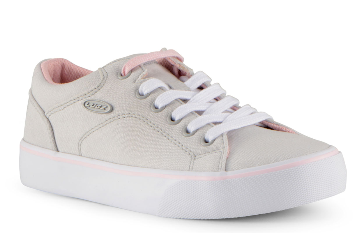Women's Ally Oxford Sneaker (Choose Your Color: LT GREY/POWDER PINK/WHITE, Choose Your Size: 6.5)