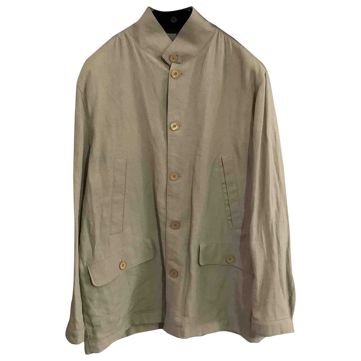 Corneliani \N Beige jacket  for Men 54 IT