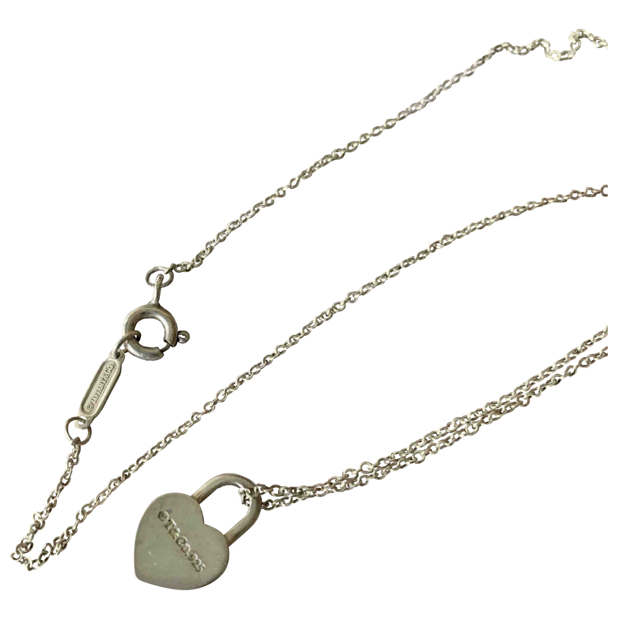 Tiffany & Co \N Kette in  Metallic Silber