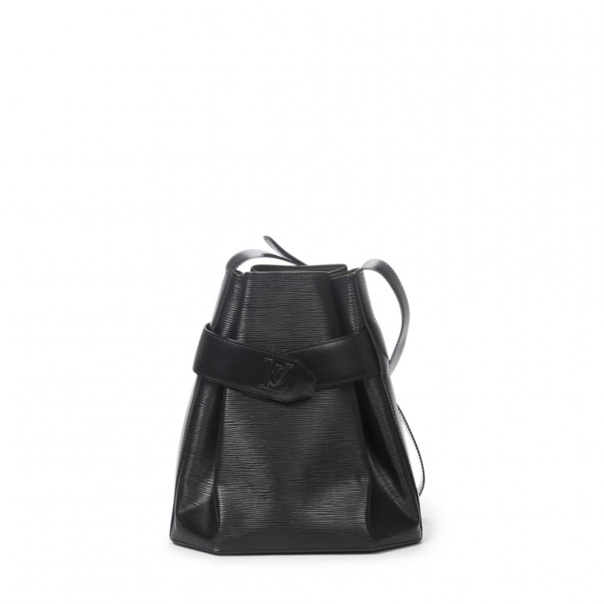 Louis Vuitton Sac depaule Handtasche in  Schwarz Leder