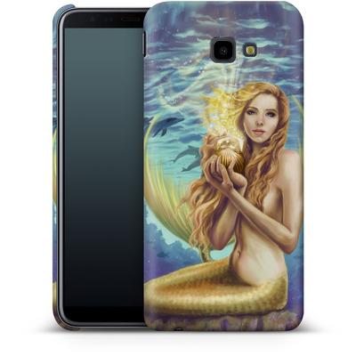 Samsung Galaxy J4 Plus Smartphone Huelle - Selina Fenech - Holding Magic von TATE and CO
