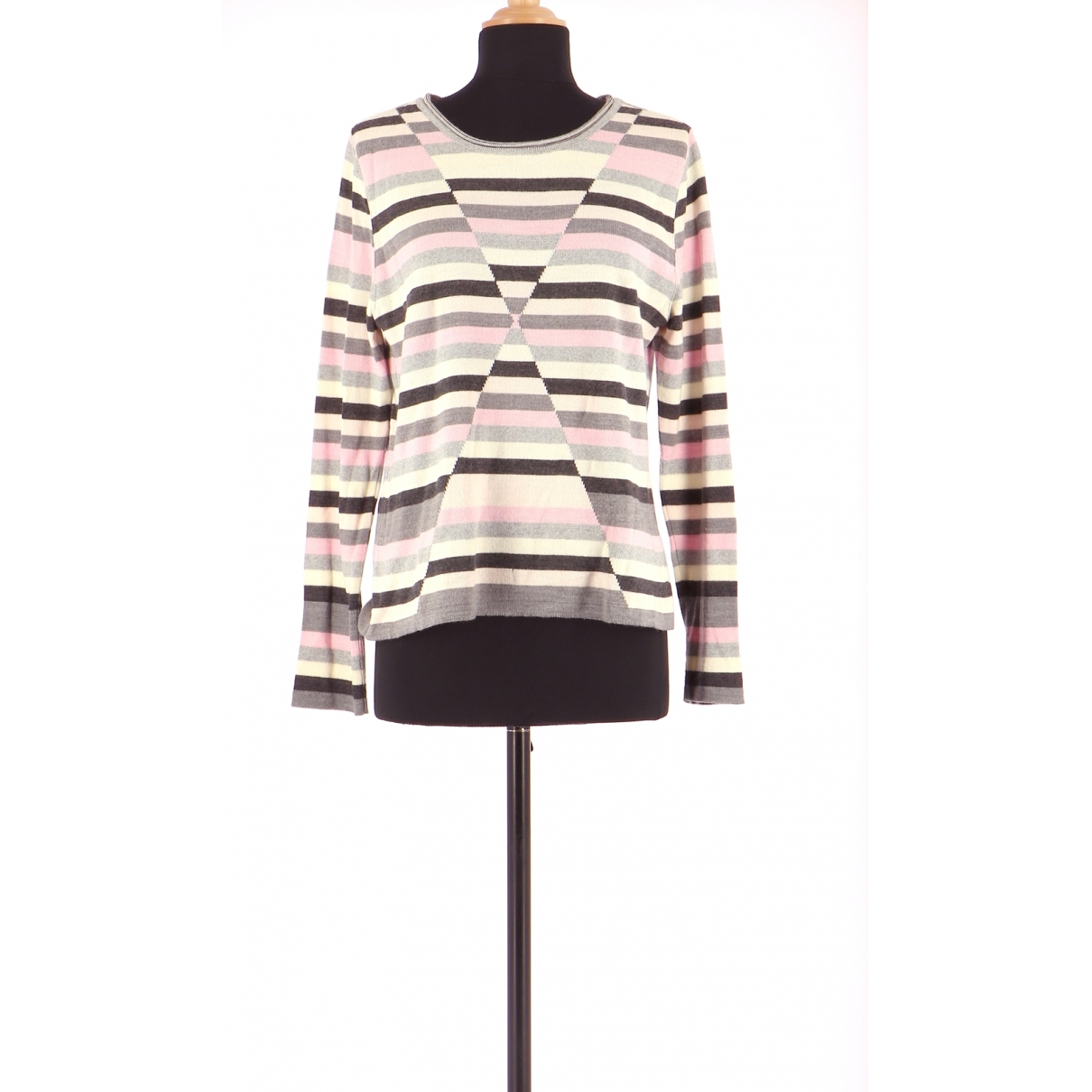 Non Signé / Unsigned \N Multicolour Wool Knitwear for Women 42 FR