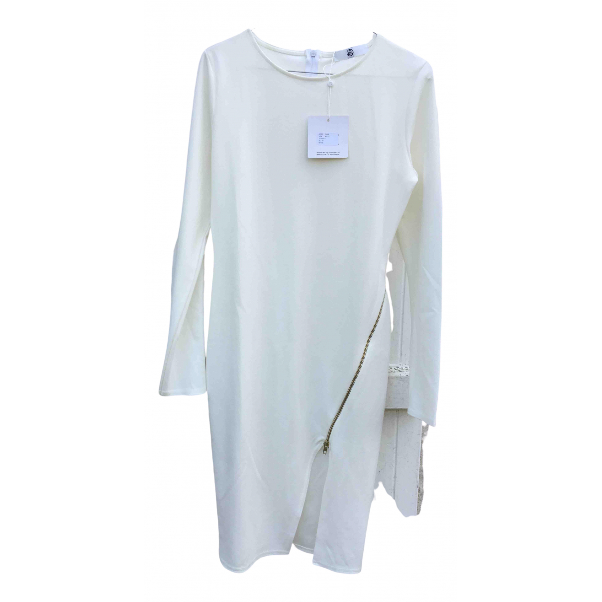 Non Signé / Unsigned \N White dress for Women 40 FR