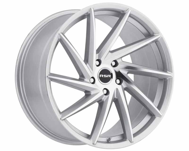 RSR Machined Silver Type R701 Wheel 18x8.5 5x112 35mm