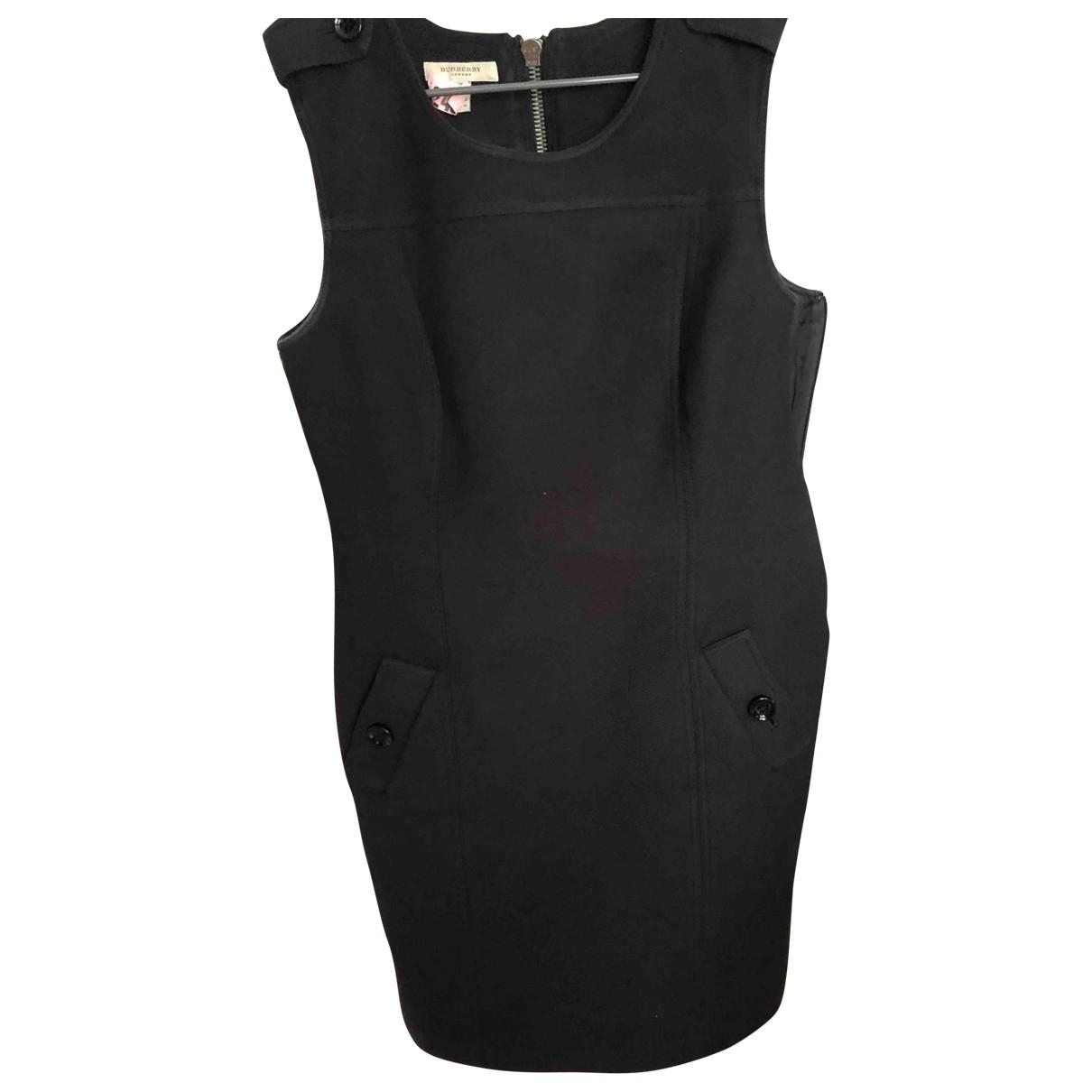 Burberry \N Black Cotton dress for Women 40 FR