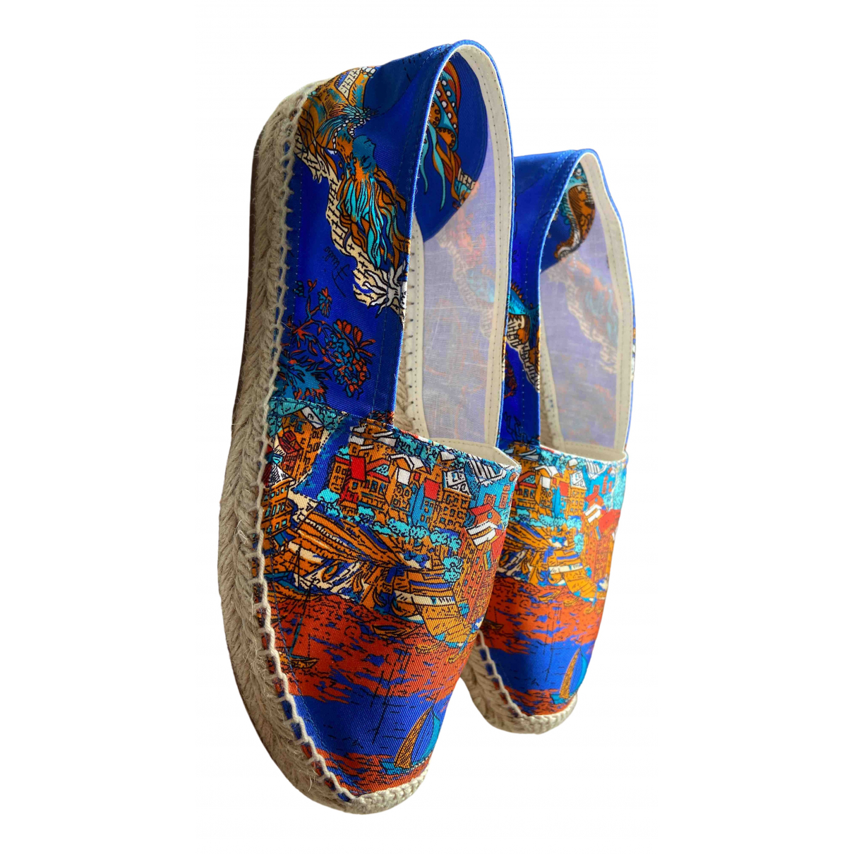 Emilio Pucci - Espadrilles   pour femme en toile - bleu