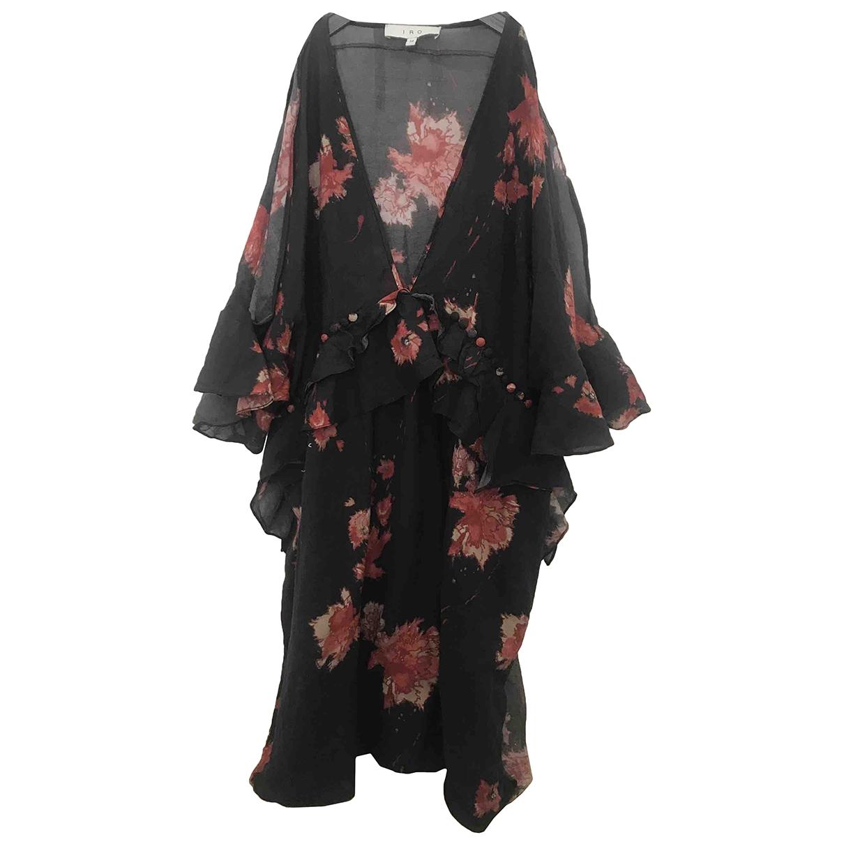 Iro \N Black Cotton dress for Women 34 FR