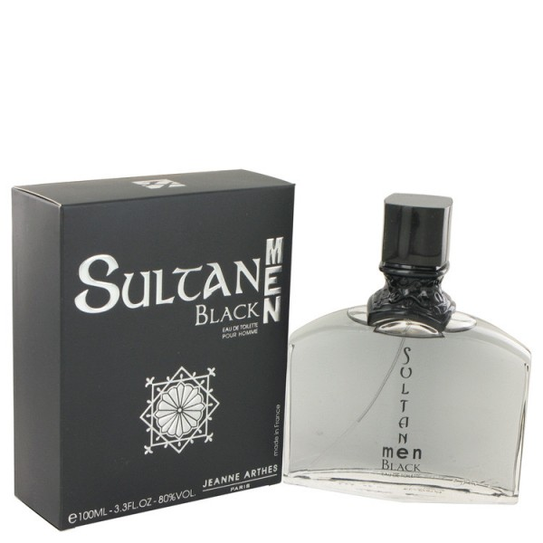 Sultan Black - Jeanne Arthes Eau de Toilette Spray 100 ML