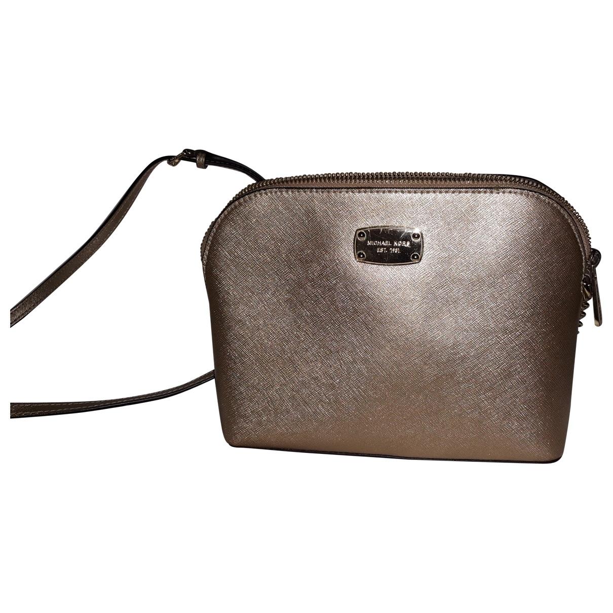 Michael Kors Cindy Gold Leather handbag for Women \N