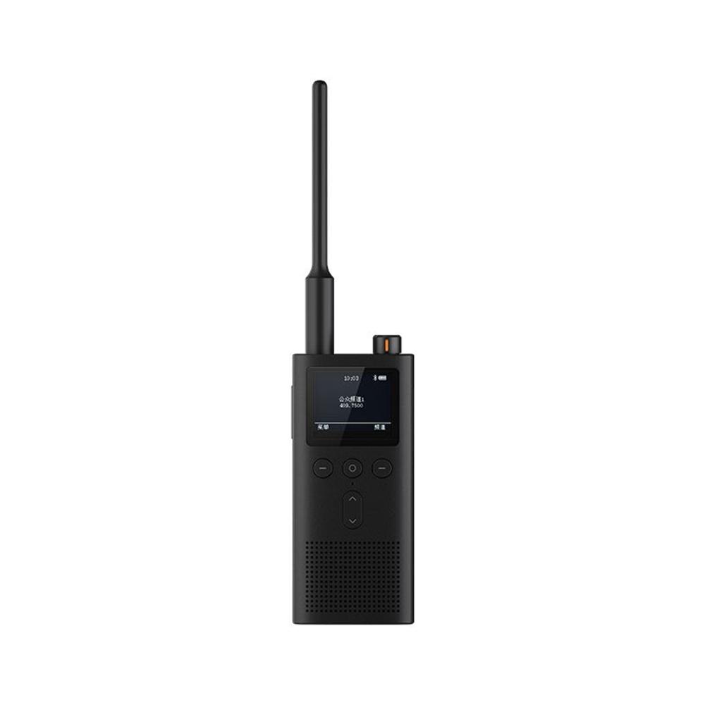 Xiaomi Mijia Walkie Talkie 2 UHF-VHF Dual-band 5W Transmission Power 5200mAh Battery IP65 Water Resistant - Black
