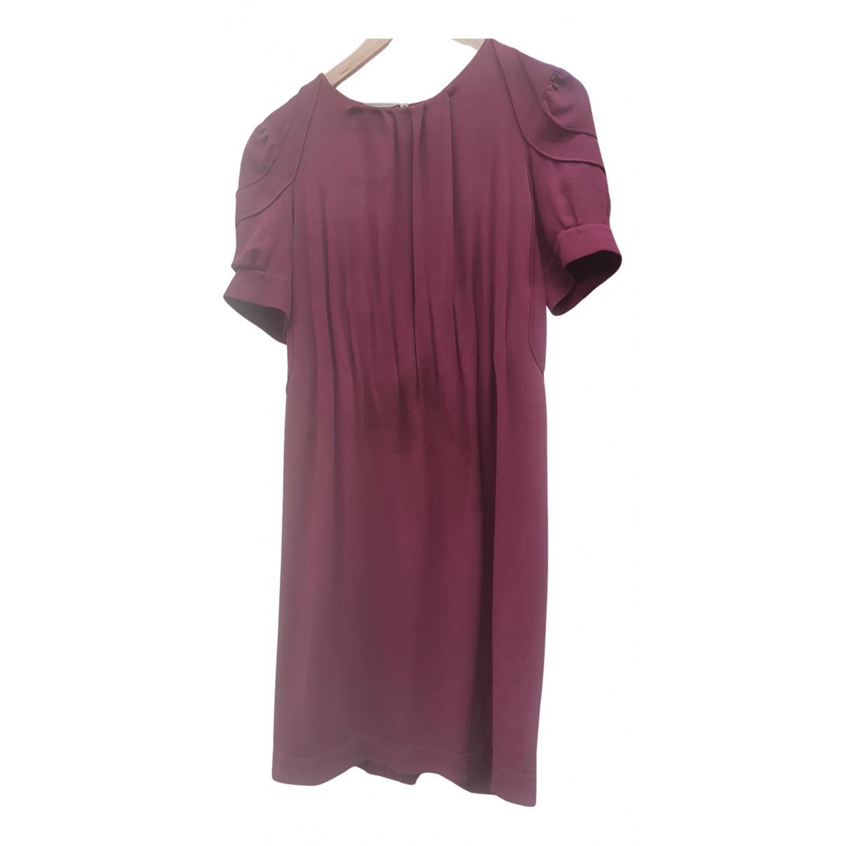 Louis Vuitton - Robe   pour femme en soie - rose
