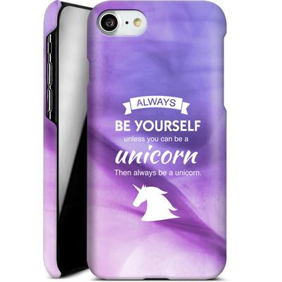 Apple iPhone 8 Smartphone Huelle - Be A Unicorn von Statements