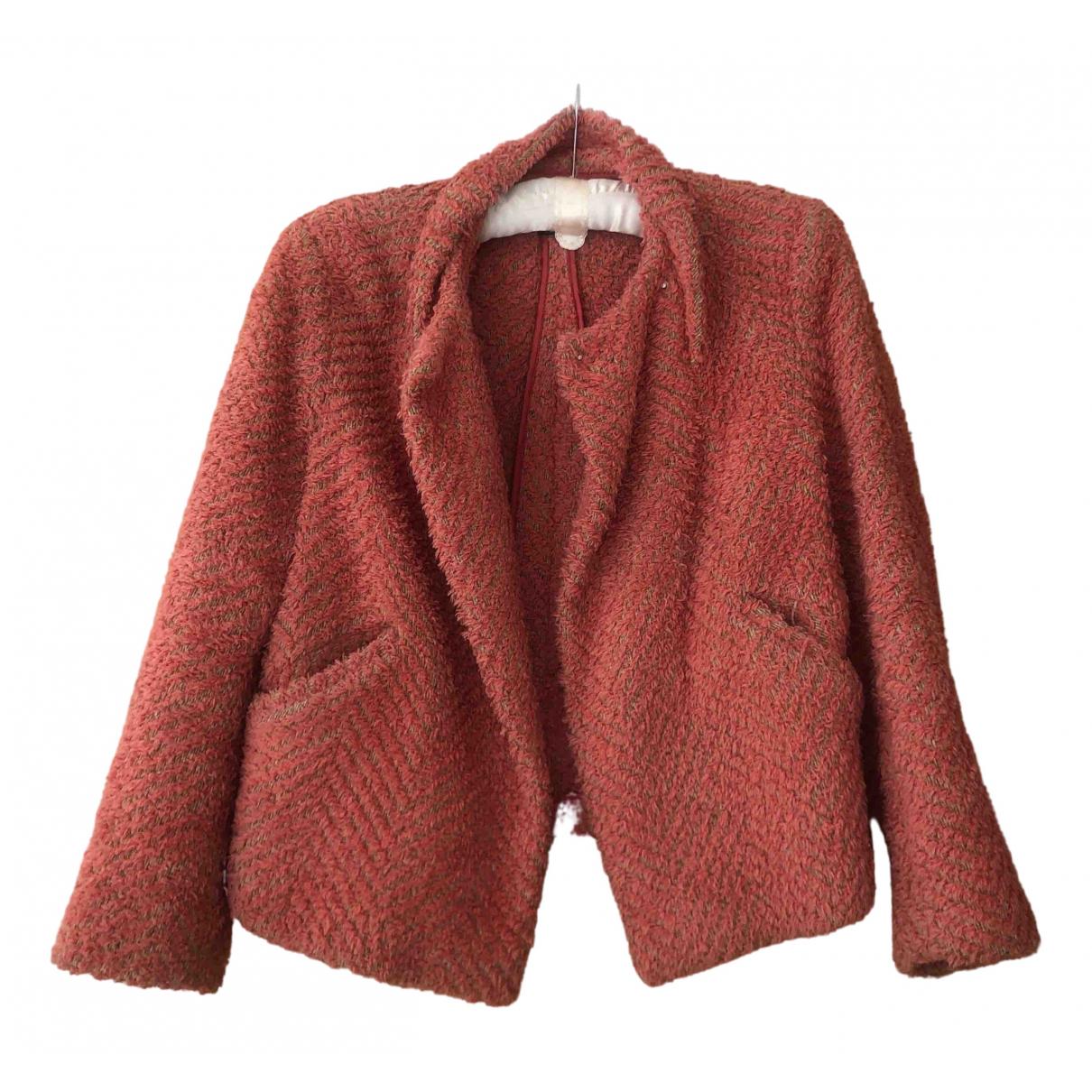 Isabel Marant - Veste   pour femme en laine - rose