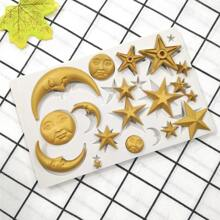 Moon & Star Design Mold