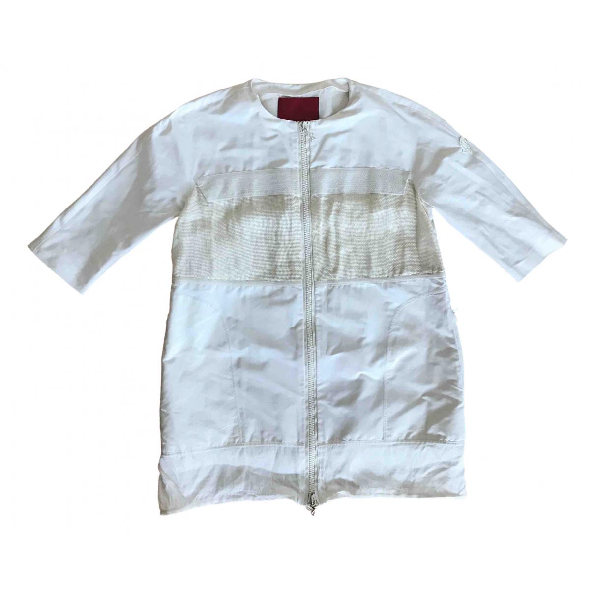 Moncler - Manteau Gamme Rouge pour femme - beige