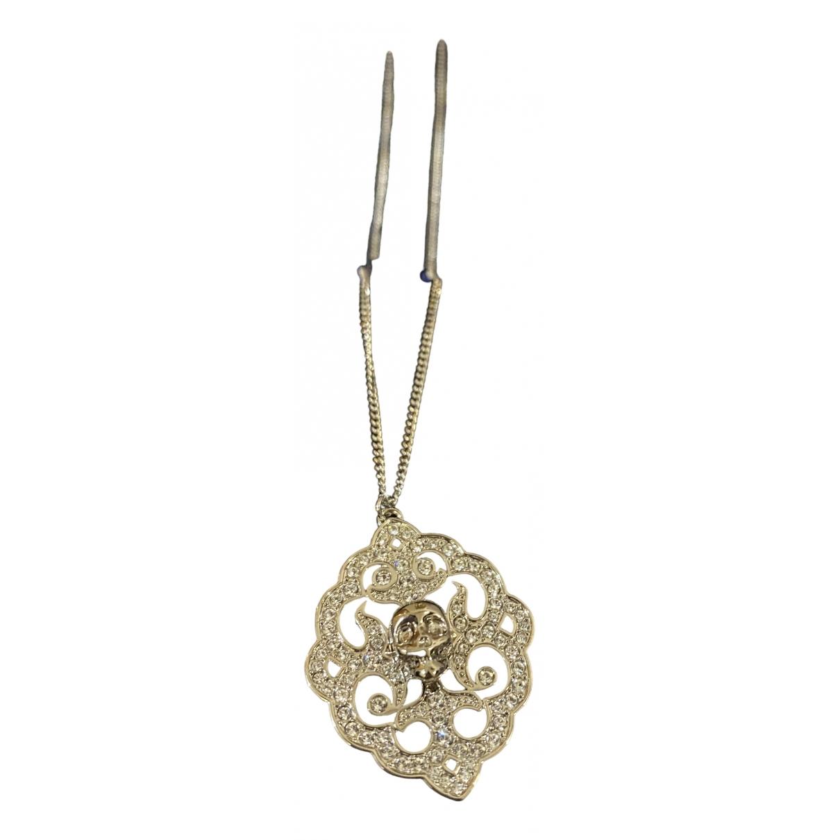 Swarovski \N Kette in  Silber Metall