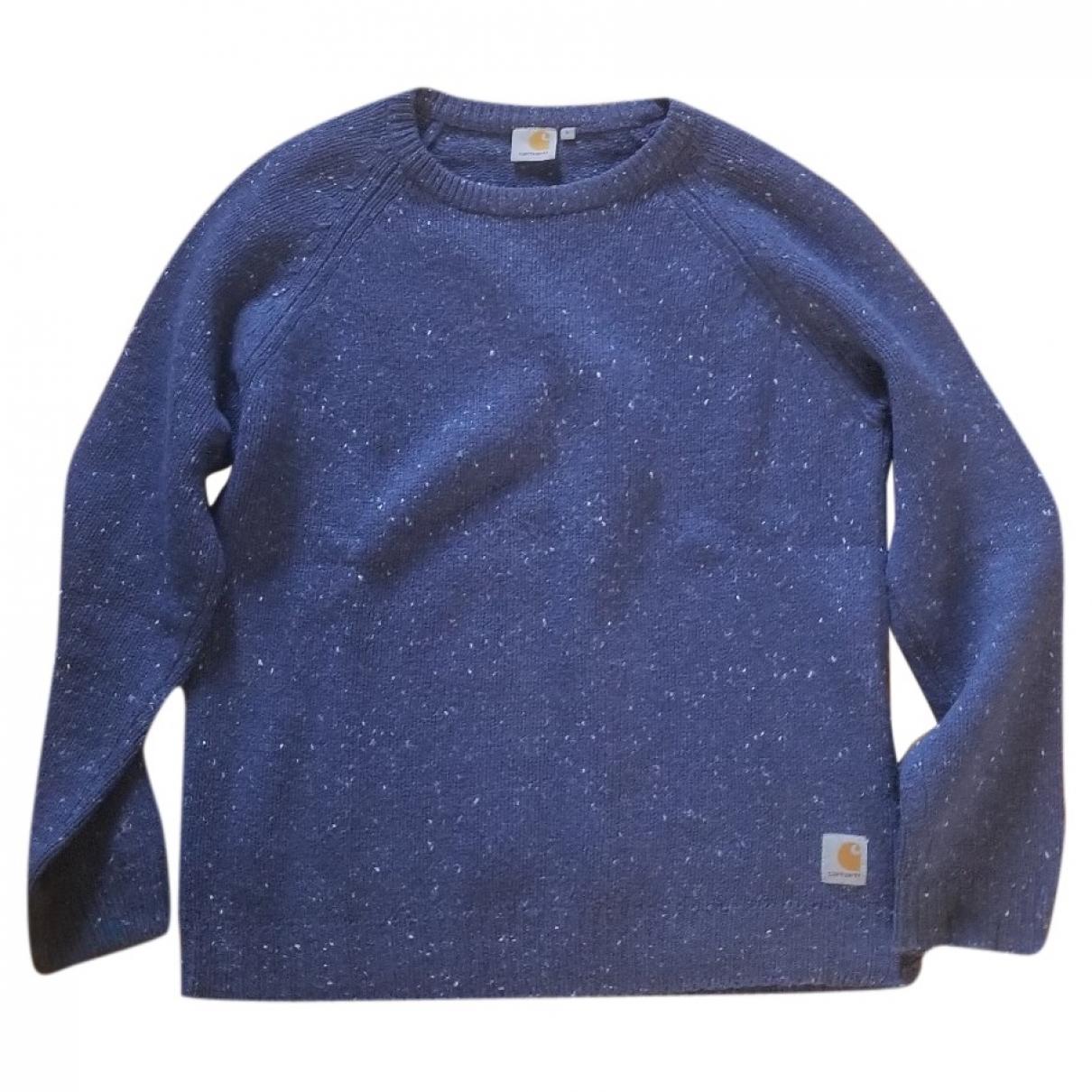 Carhartt \N Pullover.Westen.Sweatshirts  in  Blau Wolle