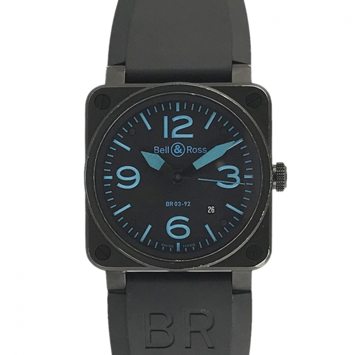 Bell & Ross BR03-92 Uhr in  Schwarz Stahl