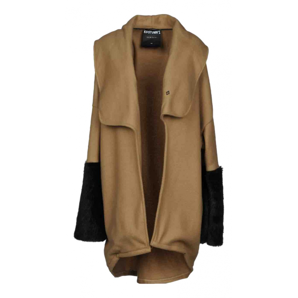 Non Signé / Unsigned N Brown coat for Women S International