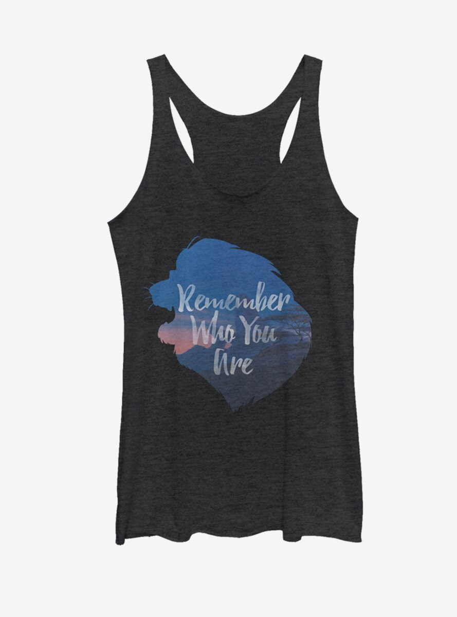 Disney Lion King Remember Who You Are Simba Womens Tank