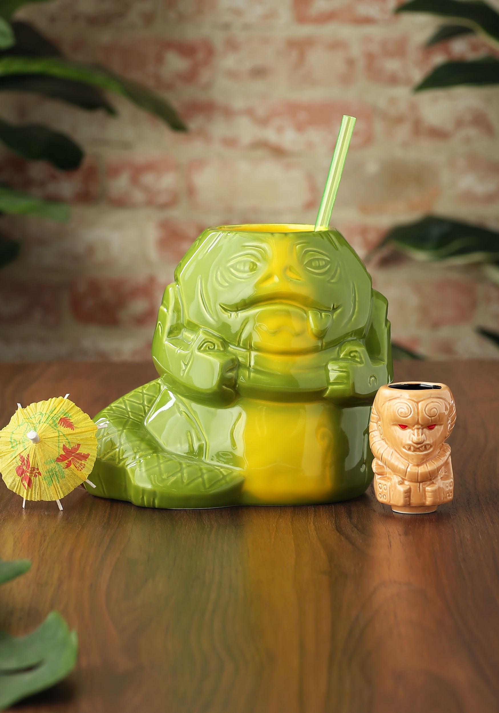 Geeki Tiki Jabba the Hutt 40oz Tiki Mug and Bib Fortuna Mini Tiki Mug