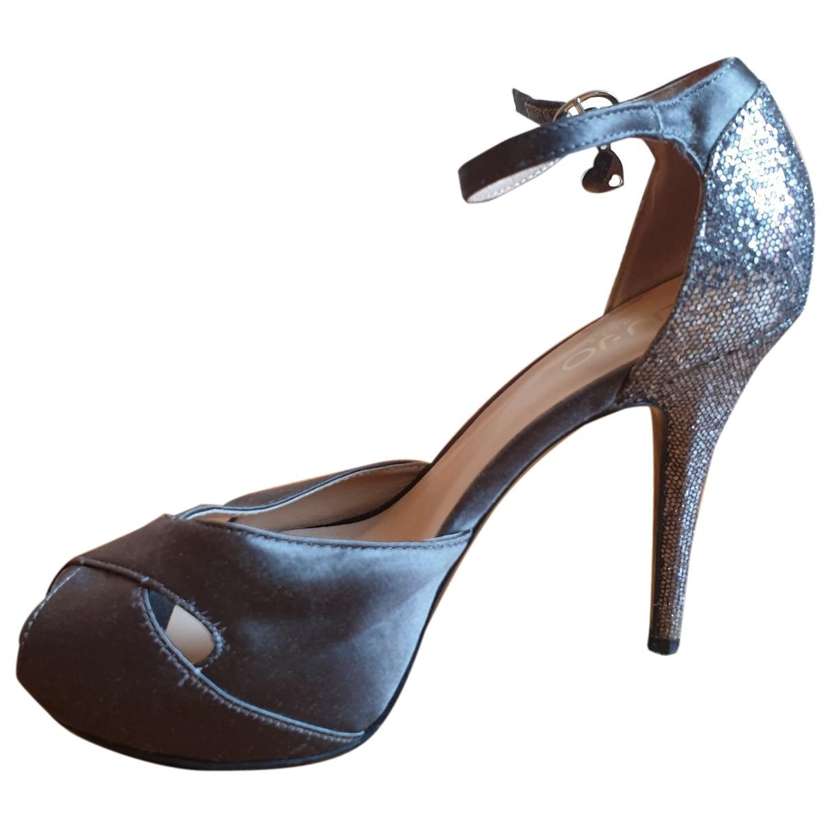 Liu.jo N Grey Sandals for Women 37 EU